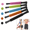 Yoga Fitness Muscle Relax Massage Stick Gear Roller Back Whole Body Knead  Relaxation Exercise Tool 2021 New Products Recommend