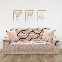 Slipcover Non-slip Elastic Sofa Covers Stretch Sofa Cover for Living Room Couch Cover Armchair Cover Single/Two/Three Seater недорого
