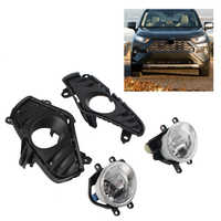 Car Daytime Running Light DRL Front Bumper Fog Lights Assembly w/Switch +Bulb For Toyota RAV4 2018 2019 2020 LE XLE Hybird XSE