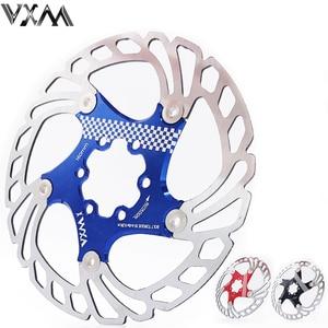 Image 1 - VXM Brake Disc Pads 140/160/180/203mm Bike Brake Rotors MTB Cooling Float Disc Brake Bicycle Accessories Float Brake Disc Pads