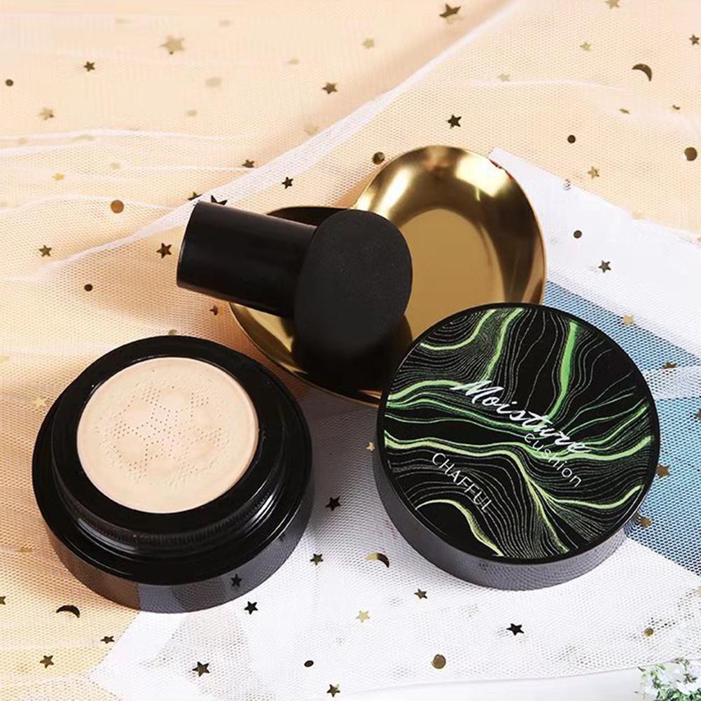 Грибной головкой макияж воздушная подушка Увлажняющая Основа Воздухопроницаемый натуральный Осветляющий Макияж BB крем