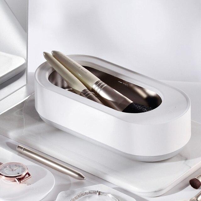 Original EraClean Ultra sonique nettoyant bijoux lunettes Circuit imprimé nettoyage 45000Hz fréquence Vibration sonique nettoyant bain nouveau