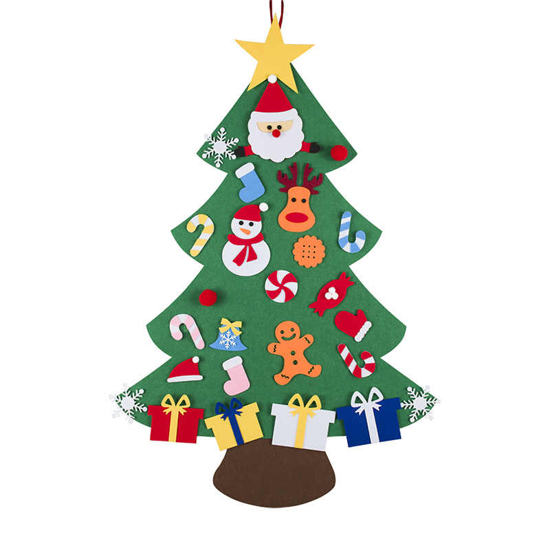 DIY Felt Christmas Tree