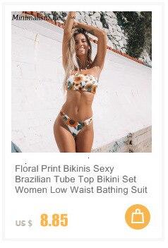 H458e39a56a2f439795699694e5618d59c Sexy Striped Bandage Bikinis Women One Shoulder Bathing Suit Swimwear Low Waist Swimsuit Tube Top Female Summer Beachwear
