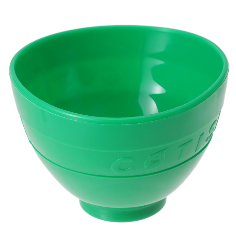 500ml Flexible Rubber Dental Mixing Bowl Green Dental Lab Oral Teeth Tools Mixing Dental Bowl Oral Care Tool