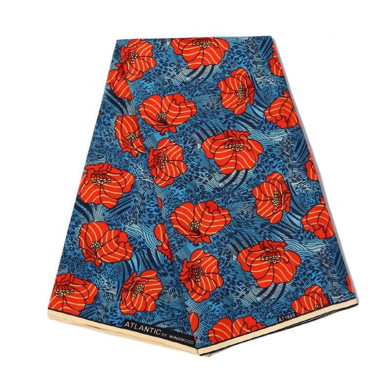 Veritable Wax Polyester Guaranteed Real Dutch Wax High Quality Wax Cotton 6yard African Ankara Sewing Fabric