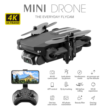 цена на RC Drone 4K HD Wide Angle Camera Mini Drone Quadcopter WIFI FPV Camera Foldable Drone Altitude Hold Headless Mode RC Quadcopter