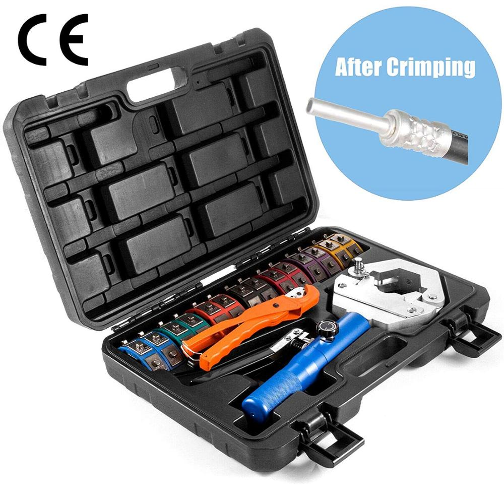 iGeelee Hydraulic Hose Crimping Tool IG 71500 Hose AC crimping tool for Barbed and Beaded Hose