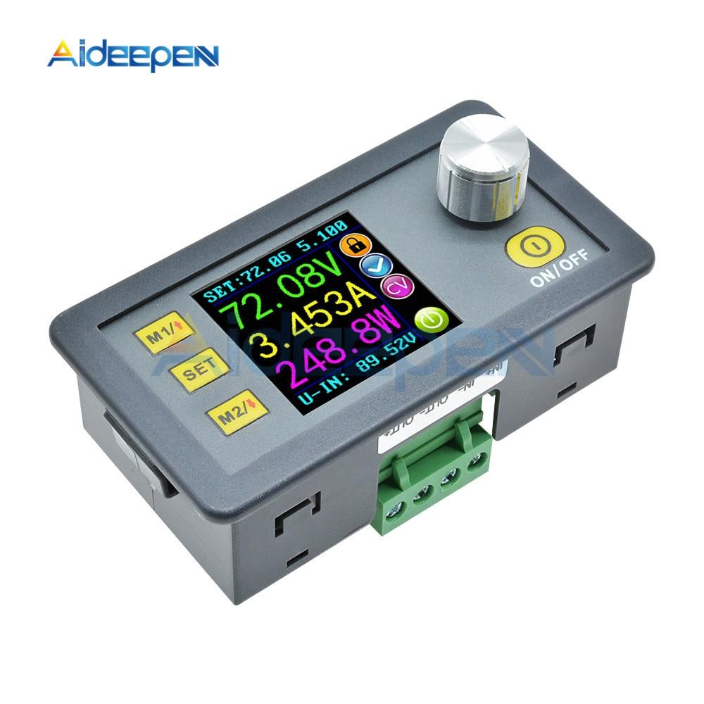 DP50V5A Constant Voltage Current Step-down Programmable Power Supply Module Buck Voltage Converter Regulator Color LCD 50V 5A