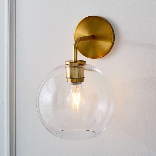 modern  wall lamp penteadeira crystal dining room bedroom  aisle  luminaria de parede lampara pared
