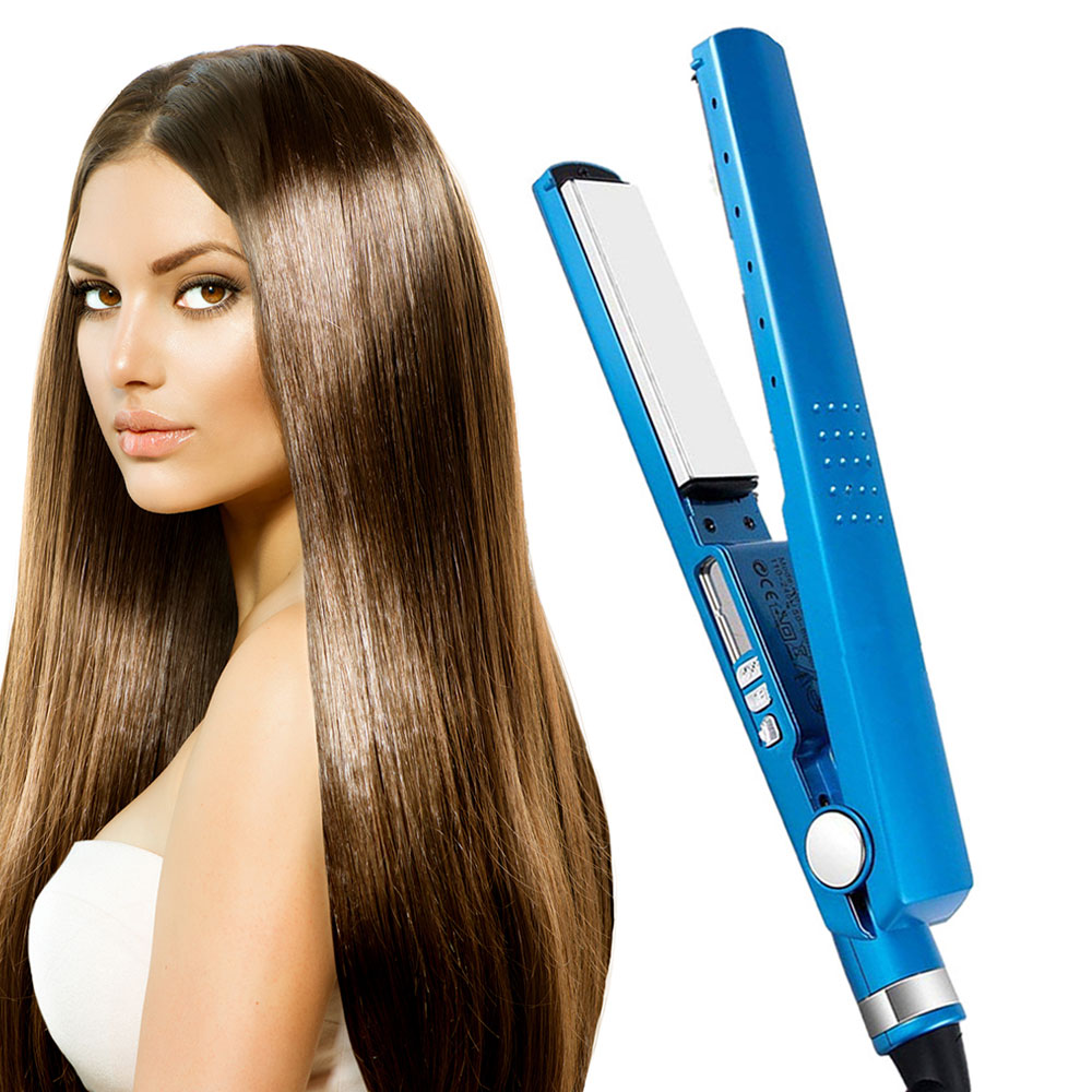 Ceramic Hair Straightener PRO450F11/4plateTitaniumHairStraightenerStraighteningIronsFlatIronHairCurler Styling Tools
