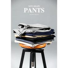 Мужские повседневные брюки из хлопка SIMWOOD, хлопковые светлые брюки облегающего покроя, 7 цветов, брендовая одежда больших размеров на осень и зима