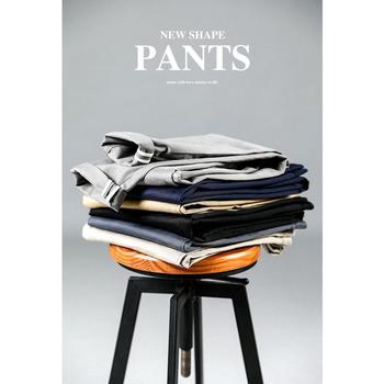 SIMWOOD 2020 wiosna lato nowe spodnie na co dzień mężczyźni bawełna Slim Fit Chinos modne spodnie męskie marki odzież Plus rozmiar tanie i dobre opinie Ołówek spodnie Mieszkanie COTTON spandex NONE REGULAR 2 38 - 3 03 Pełnej długości KX6033 Smart Casual Midweight Suknem