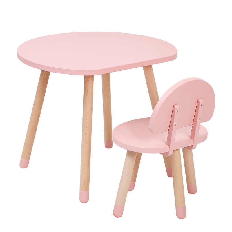 Kids Table And Chairs Writing Table Desk Solid Wood Modern Children S Desks And Chairs Study Game Writing Kids Reading Table Aliexpress