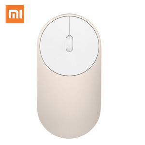 Image 3 - Original Xiaomi Mi Wireless Mouse Portable Game Mouses Aluminium Alloy ABS Material 2.4GHz WiFi Bluetooth 4.0 Control Connect #