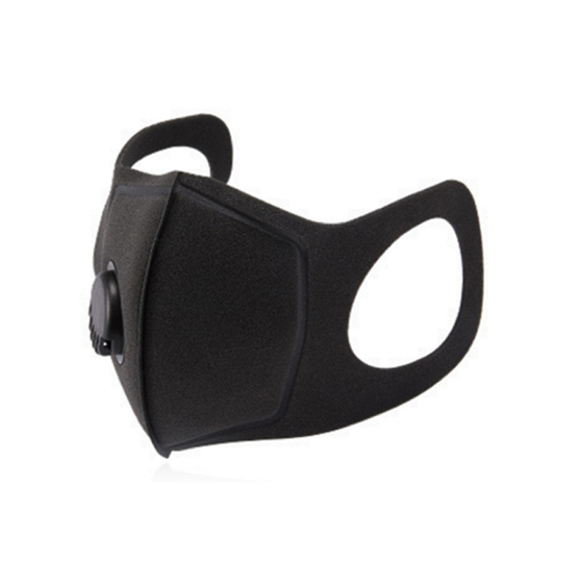 Face Mask With Filter Carbon Dust-proof PM2.5 Anti-fog Respirator Anti-Pollution MTB Bike Outdoor Training Mask Face Shield