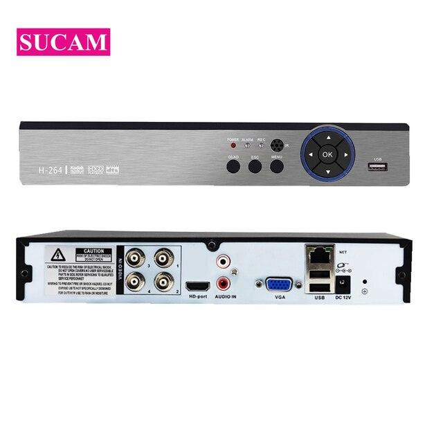 Caméra de sécurité 5MP-N   DVR 4CH 8CH 16CH AHD H.265, enregistreur vidéo hybride 5 mp NVR 2 mp 4 mp 5 mp AHD TVI CVI analogiques IP XMEye
