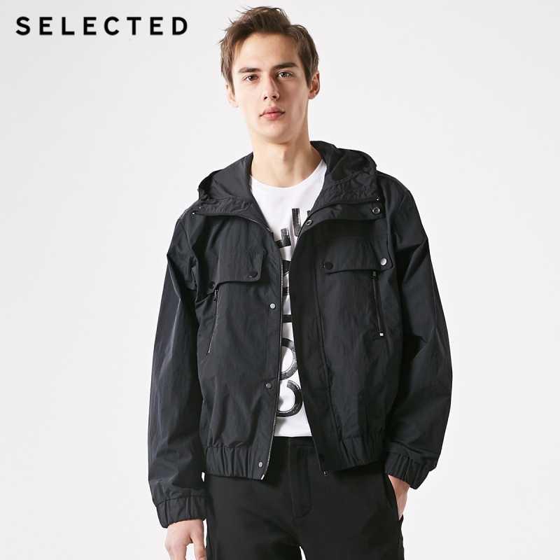 選択春無地カラー作業服生き抜くフード付きビジネスカジュアル男性の機能ジャケットs   4191OM540