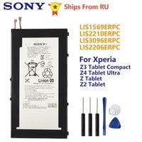 Bateria original de sony lis1569erpc para sony xperia z3 tablet z4 tablet ultra sgp712 sgp771 z tablet z2 sgp541cn