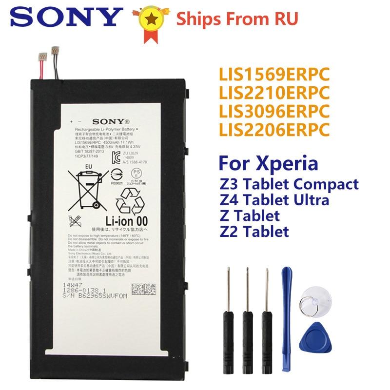 Batteria originale Sony LIS1569ERPC Per SONY Xperia Z3 Tablet Z4 Tablet Ultra SGP712 SGP771 Tablet Z Tablet Tablet Z2 SGP541CN