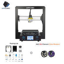 Cheap ANYCUBIC 3D Printer I3 Mega Industrial Lattice Platform All Metal Plus Size Impresora Desktop 3d DIY Kit imprimante(China)