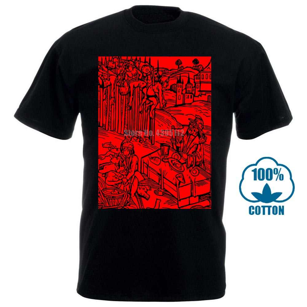 Vlad en Impaler ahşap baskı korku gizli film T Shirt S 6Xl | Xlt 3Xlt 011375