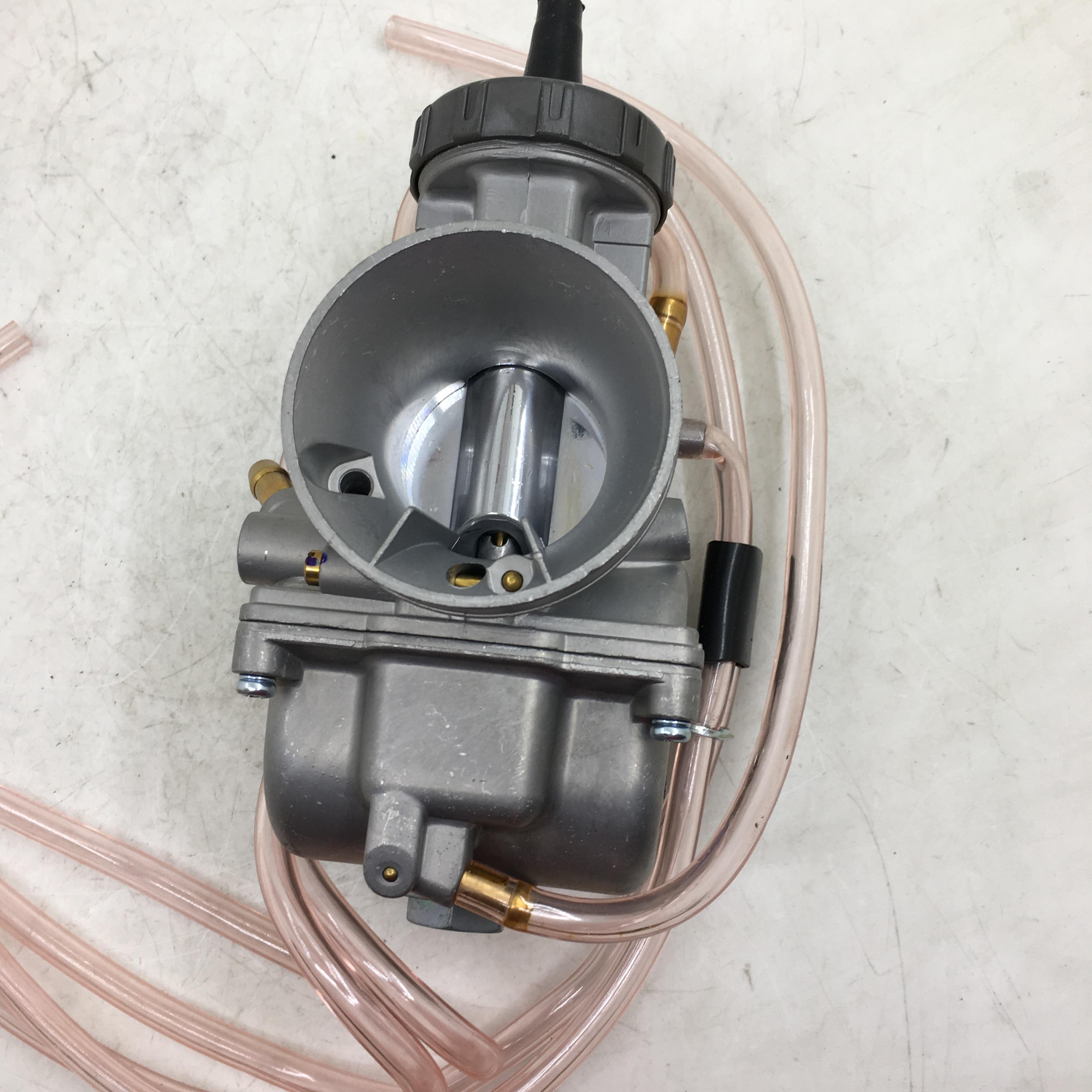 SherryBerg Carburettor 40mm Motorcycle PWK 40 Mm Carburetor 40pwk 40 Air Strike Carb For Keihin 500cc - 800cc New Top Quality