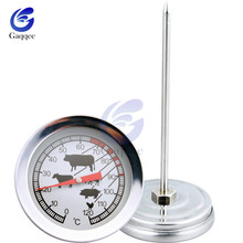 Kitchen Oven-Thermometer Probe Stainless-Steel Meat-Gauge BBQ Instant-Read Food-Cooking
