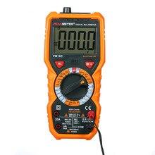 Peakmeter pm18c verdadeiro rms multímetro digital medição ac/dc tensão atual resistência capacitância medidor de frequência