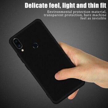 Negro cubierta de teléfono de TPU suave para Meizu 16T 16S Pro 16XS 16S 16 más 16X 16th Nota 8 9 X8 M5S M5 M6 nota M5C cubierta caso