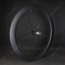 Toray carbone route course roues à vendre cyclisme R13 D frein à disque verrouillage central meilleur pneu/Tubeless prêt léger roues de cyclisme