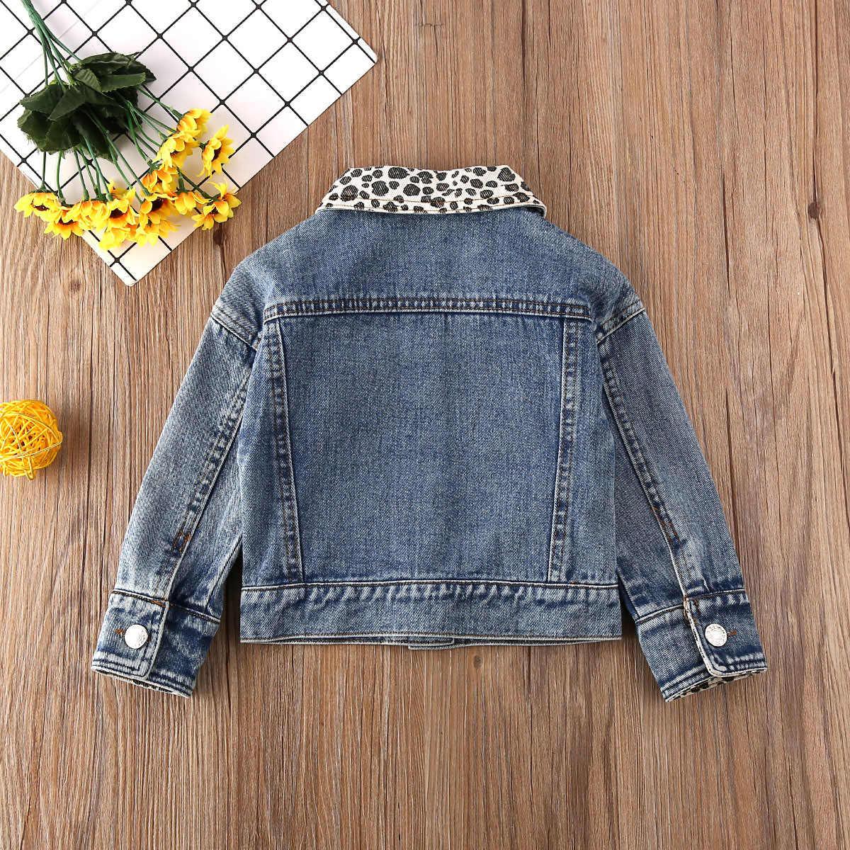 2020 תינוק אביב סתיו בגדי מעיל תינוקת נמר דנים ילדי מעיל חם ילדי הלבשה עליונה ארוך שרוול אופנה מעיל 9 m-5 T