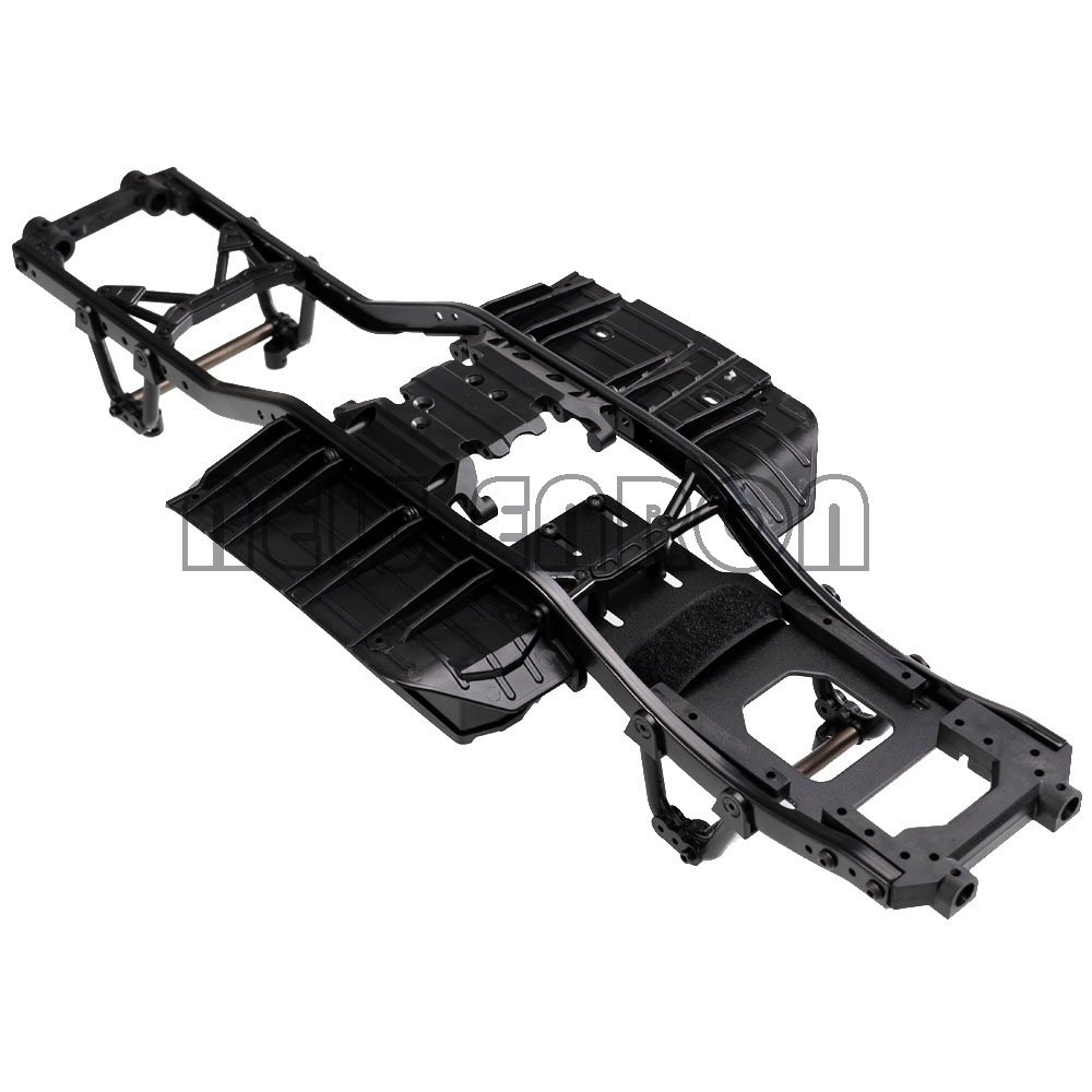 NEW ENRON 313mm 12.3inch Wheelbase Plastic Chassis Frame For 1/10 Axial SCX10 & SCX10 II 90046 90047 Rock Crawler Model Car