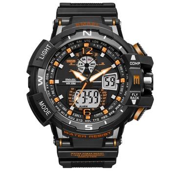 SMAEL Sport Watch Men 2019 Clock Male LED Digital Quartz Wrist Watches Men's Top Brand Luxury Digital-watch Relogio Masculino