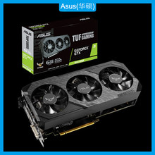 Asus TUF3-GTX1660-O6G-GAMING 26.4x13x5.5cm placa gráfica original nvidia®Placa de vídeo de geforce gtx 1660 gddr5 6gb dvi hdmi dp