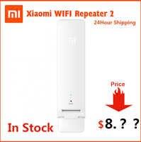 En Stock Original Xiaomi repetidor WIFI 2 amplificador extensor Universal Repitidor ampliador de WIFI 300Mbps 802.11n inalámbrica