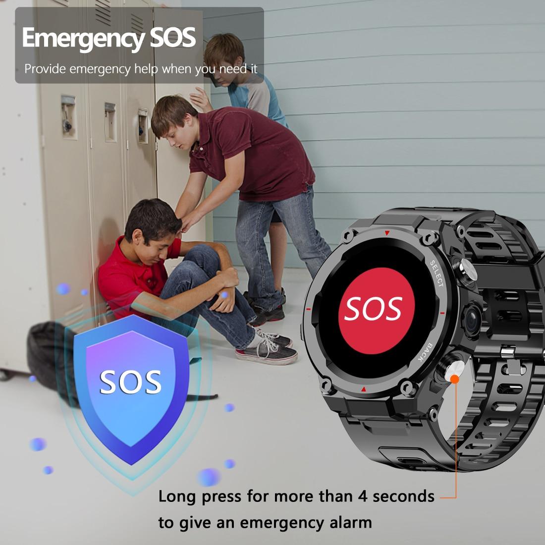 Permalink to Q998 4G Smart Watch For Men Women Outdoor Sport Smartwatch IP68 Waterproof Swimming Watch 1.28″ Round Fitness Tracker SOS Watch