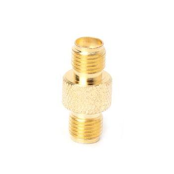RF SMA Female to SMA Female High frequency Adapter Copper Coax Connector Coupler image