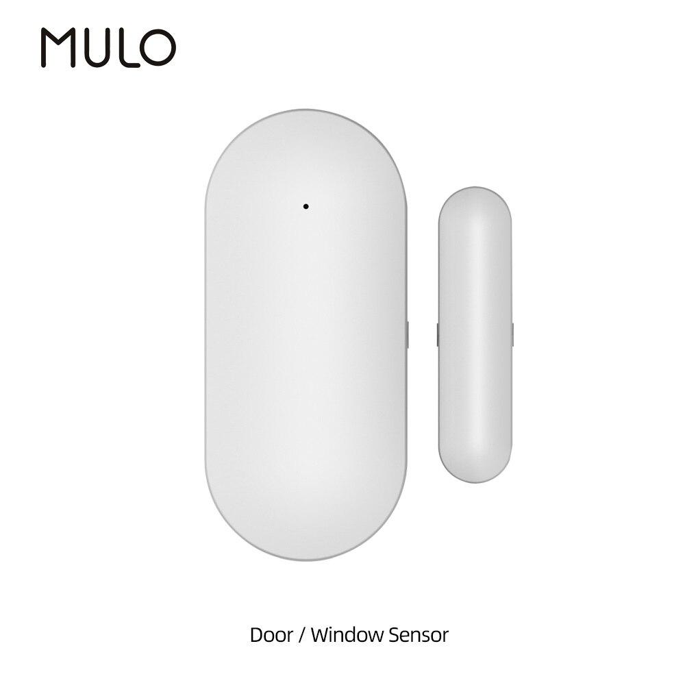 MULO 433 МГц двери Сенсор оконные детекторы Обнаружение открывания/Закрытые оповещения совместим с охранной сигнализации Системы PG107 PG103