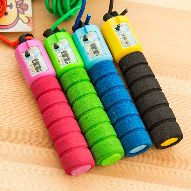 Fitness Jump Rope Sports Electronic Pattern Jump Rope Profession Adult Count Jump Rope Male STUDENT'S The Academic Test For The