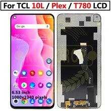 Оригинальный ЖК-дисплей для TCL PLEX T780H, ЖК-дисплей, сенсорный экран, рамка, дигитайзер в сборе для TCL PLEX T780H, сменный ЖК-дисплей