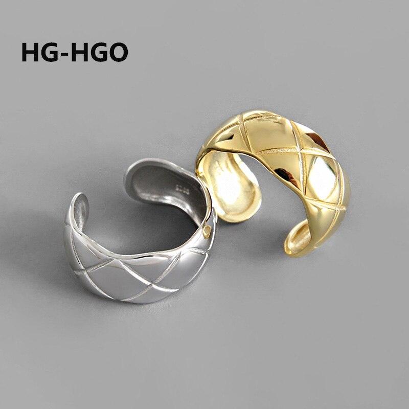 925 argent Sterling anneaux hommes grands anneaux argent 925 Vintage coréen unisexe mode bijoux gothique anneau réglable femmes or anneaux