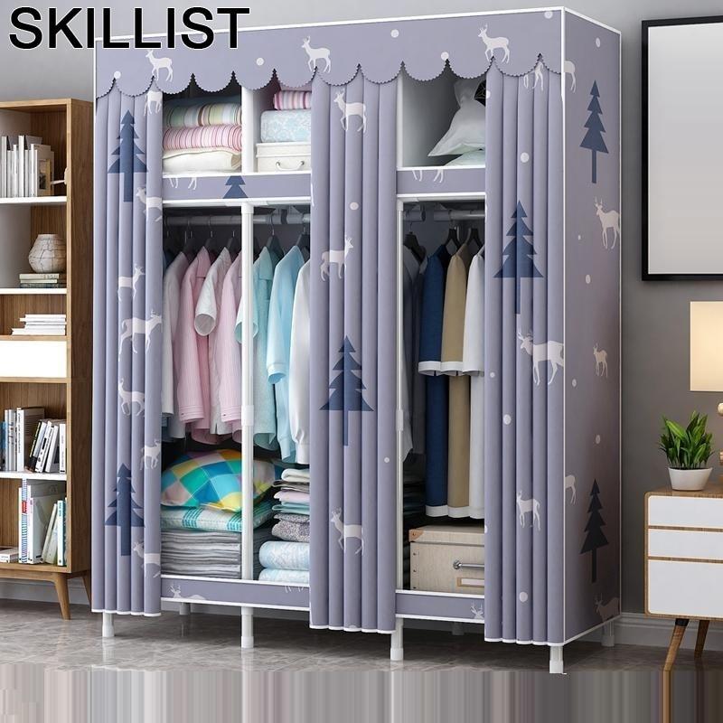 La Casa Tela Ropero font b Closet b font Storage Szafa Rangement Chambre Ropa Armario Bedroom