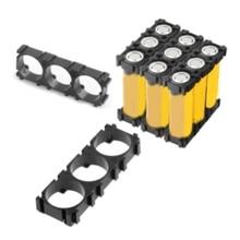 10Pcs Cell 18650 Battery Holder Bracket Cell Safety Anti Vibration Plastic Brackets for 18650 Batteries