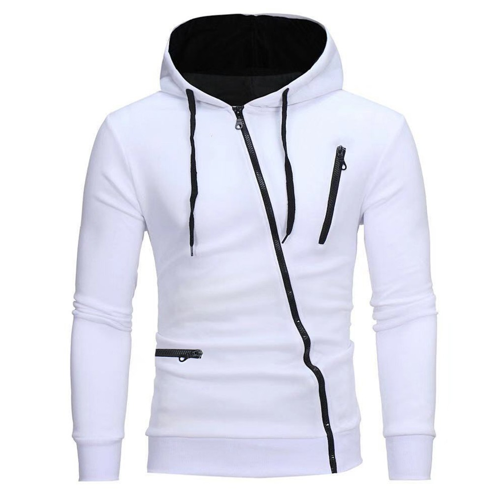Fashion Hoodies Men Winter Stranger Things Streetwear Warm Solid Zipper Hooded Long Sleeve Sport Outdoor Coat Sweatshirt Z4