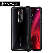 KAPAVER  Transparent Phone Case for Xiaomi Redmi K20 / Pro Hybrid Back TPU Bumper Resistant Protection Original Cover