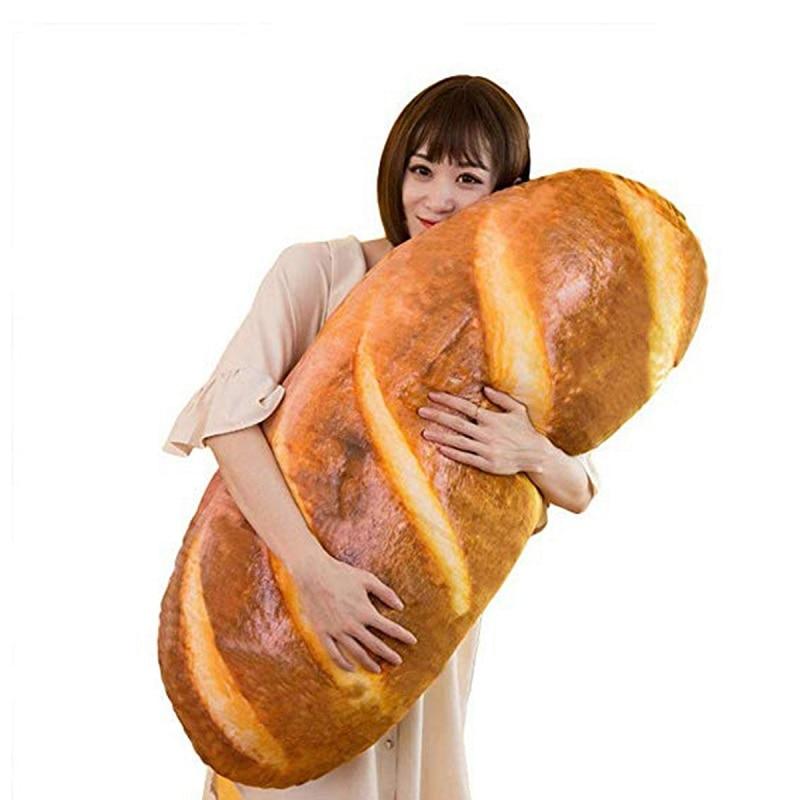 3D плюшевая подушка, Подарочная мягкая плюшевая подушка, игрушки на день рождения, забавный игрушечный закусочный хлеб, форма для детей, домашний декор для девочек