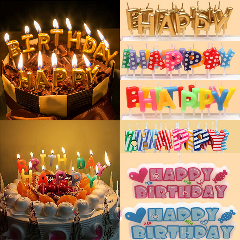 Superb Creative Birthday Cake Candle Set Cake Decoration Family Party Use Funny Birthday Cards Online Elaedamsfinfo