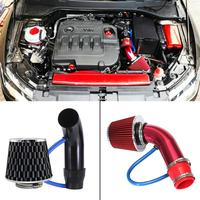 Universal 76mm/3 Car Cold Air Intake System Turbo Induction Pipe Tube Air Intake Alumimum Pipe Mushroom Head Hose System