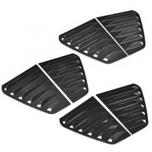 Pair of Side Vent Window Scoop Louver Trim Car Modification Fit for R Mk7/Mk7.5 2013-2020 Car Window Louver Window Scoop Cover